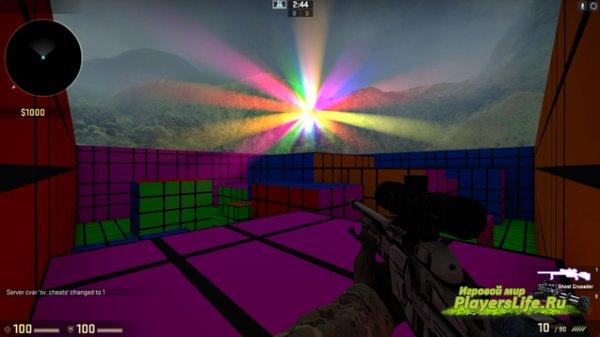 Карта Gravity Disco для CS:GO