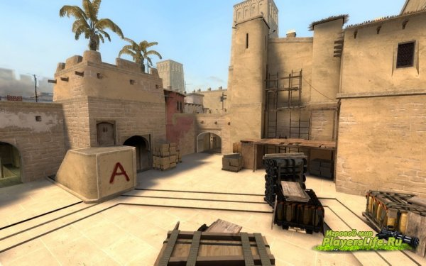 Карта de_mirage из CS:GO для CS:S