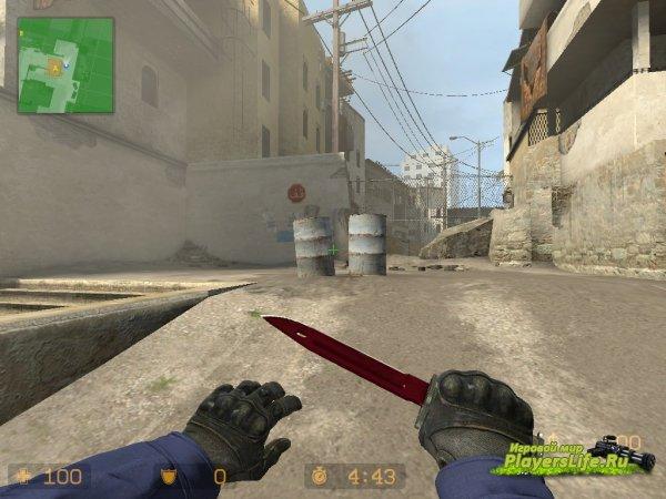 Штык нож Рубин (Counter-Strike:Source)