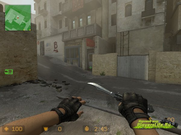 Стандартный нож-бабочка (Counter-Strike:Source)