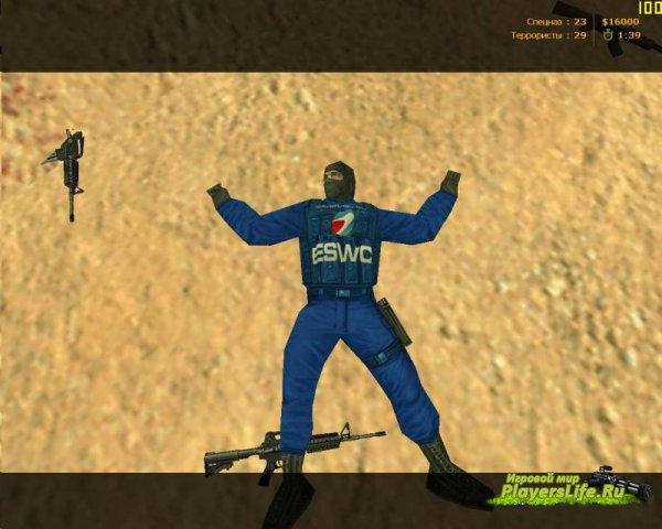 Модели игроков «ESWC 2010» для CS 1.6