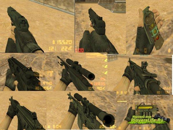 Модели оружия из CS:GO для CS 1.6