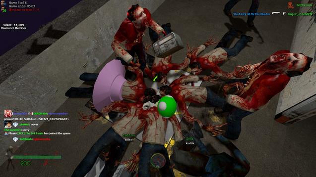 Гаррис мод Выживание с Зомби