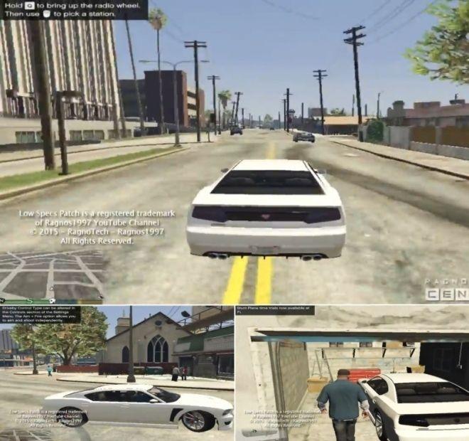 Мод на Повышение Fps в GTA 5