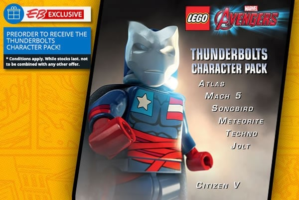 [DLC] Thunderbolts Characters Pack для LEGO Marvel's Avengers