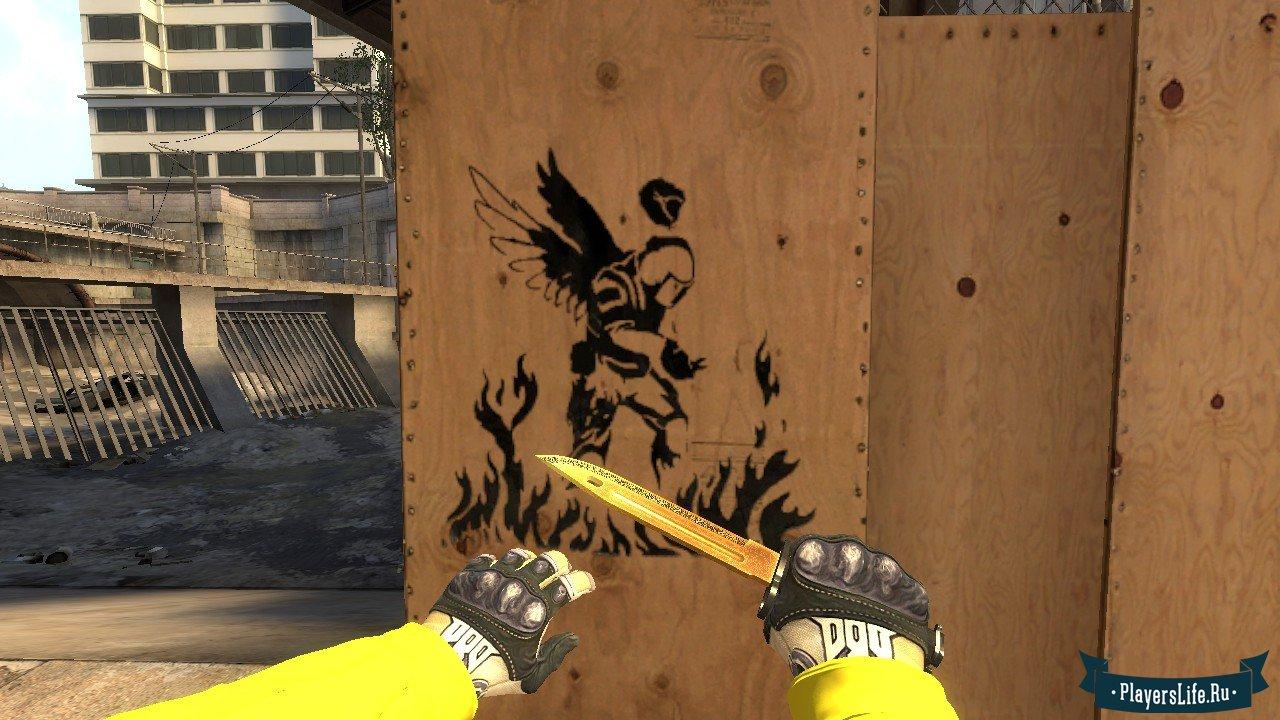 Как в кс го сделать граффити в 687
